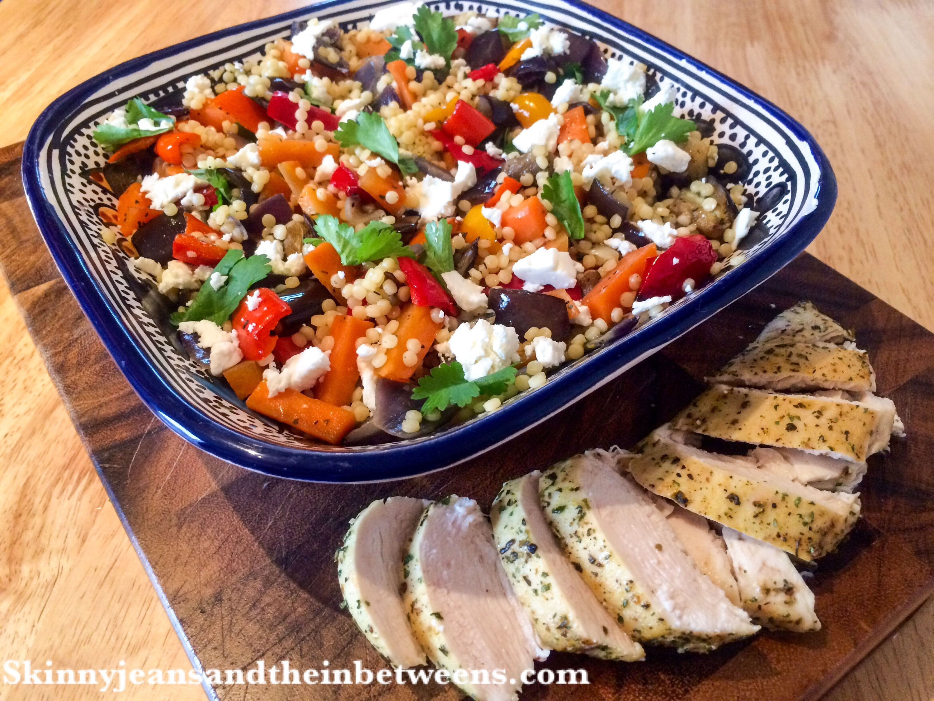 recipe: israeli couscous salad with roasted vegetables [20]