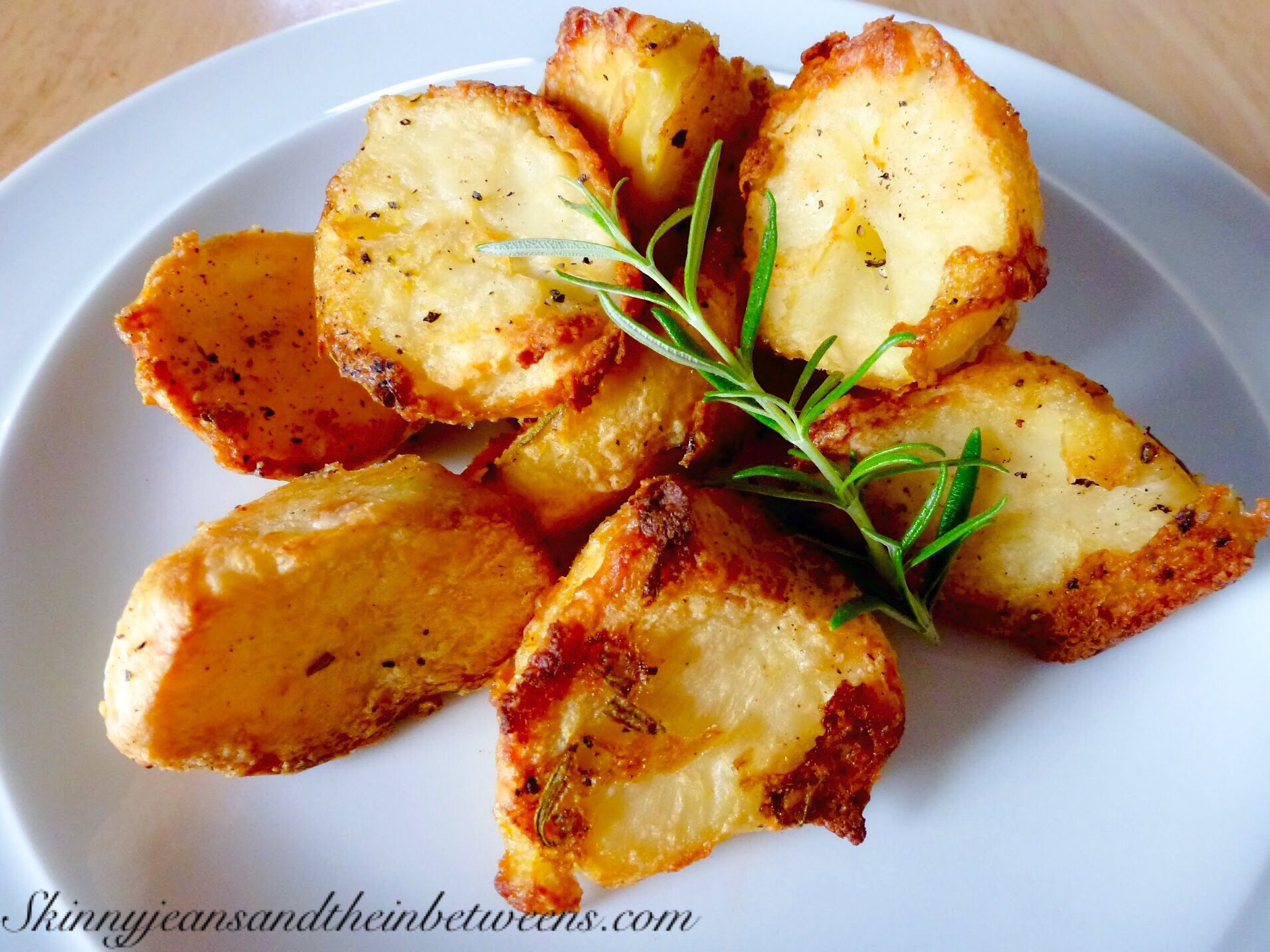Can i cook roast potatoes in oil